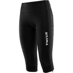 Aclima WarmWool 3/4 Longs Dames, jet black